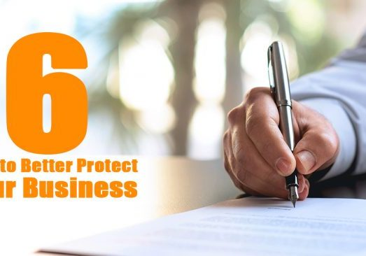 6 Way to Better Protect Your Business