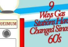 9 Ways Gas Stations Have Changed Since the 60's